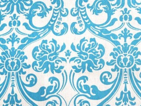 1.1 Blue Damask Backdrop