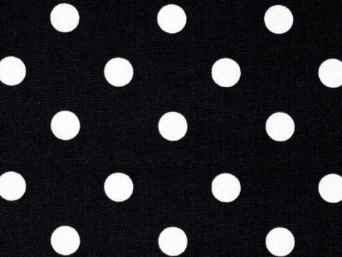 1 Black & White Polka Backdrop