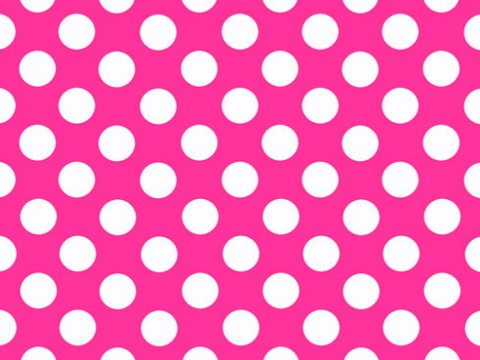1.5 Pink Polka Backdrop